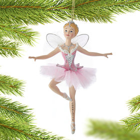 Personalized Sugar Plum Fairy Christmas Ornament