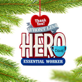 Personalized Essential Workers Ornament
