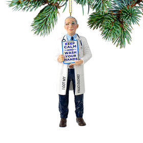 Personalized Dr. Fauci Christmas Ornament
