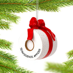 Personalized Toilet Paper Christmas Ornament