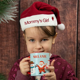 Personalized Child Santa Hat