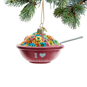Personalized Cereal Christmas Ornament