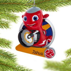 Personalized Ricky Christmas Ornament