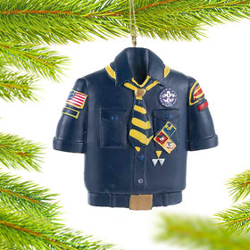 Personalized Cub Scout Shirt Christmas Ornament