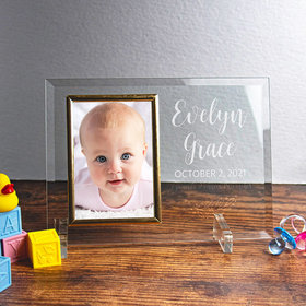 Personalized Picture Frame Baby Girl