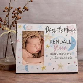 Personalized Picture Frame Over the Moon