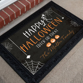 Personalized Doormat Happy Halloween