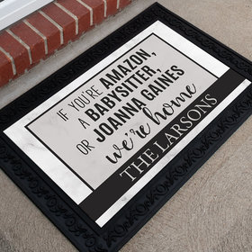 Personalized Doormat If You're Amazon