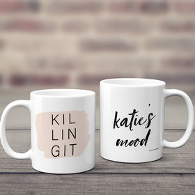Personalized Killing It 11oz Mug Empty