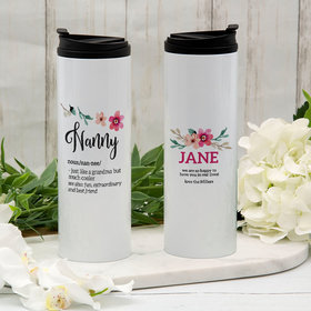 Personalized Nanny Stainless Steel Thermal Tumbler (16oz)