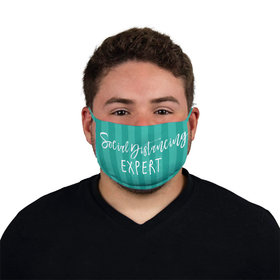 Social Distancing Expert Face Mask