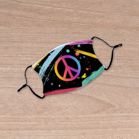 Neon Peace Face Mask
