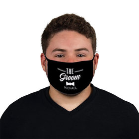 Personalized The Groom Face Mask