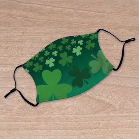 Shamrocks Adult Face Mask