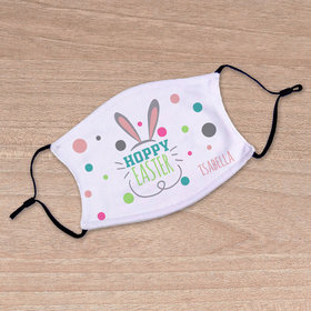 Personalized Hoppy Easter Adult Face Mask