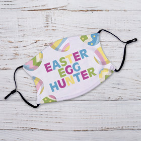Personalized Easter Egg Hunter Adult Face Mask