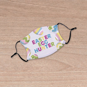 Personalized Easter Egg Hunter Youth Face Mask