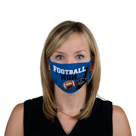 Personalized Football Sports Mom Face Mask