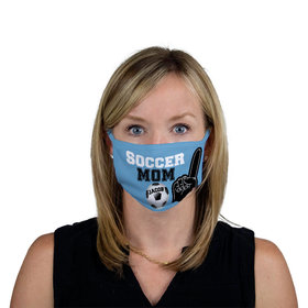 Personalized Soccer Sports Mom Facemask