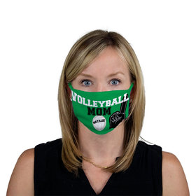 Personalized Volleyball Sports Mom Face Mask