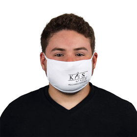 Personalized Wedding Guest Monogram Face Mask
