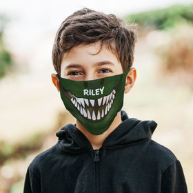 Personalized Dino Mask Face Mask
