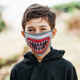 Personalized Shark Face Face Mask