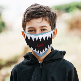 Personalized Shark Face 2 Face Mask