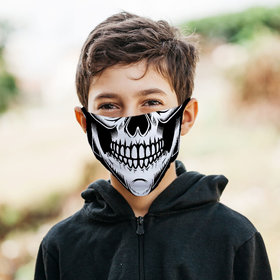 Skeleton Face Face Mask