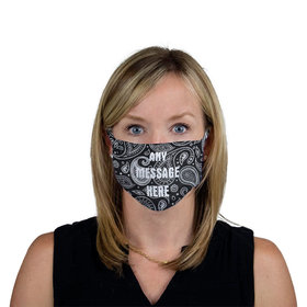 Personalized Bandana Write Your Message Face Mask