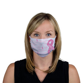 Personalized Breast Cancer Pink Fight Face mask