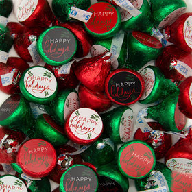 Christmas Bright Happy Holidays Hershey's Kisses Candy