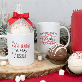 Personalized Best Ever 11oz Mug with Hot Chocolate Bomb