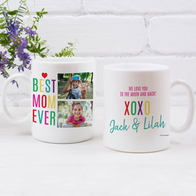 Personalized Mother 11oz Empty Mug - Best Mom Ever