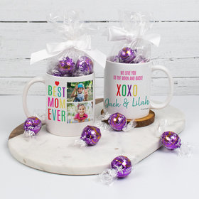Personalized Mother 11oz Mug with Lindt Truffles - Best Mom Ever