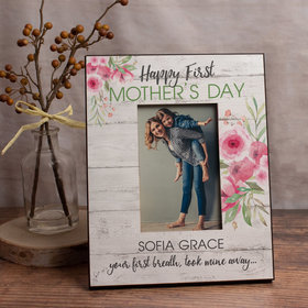 Personalized Picture Frame First Mother's Day