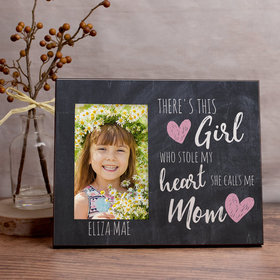 Personalized Picture Frame This Girl Stole my Heart