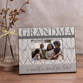 Personalized Picture Frame Grandma is Another Word for Love!