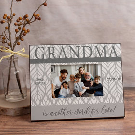 Personalized Picture Frame Grandma is Another Word for Love! (3)