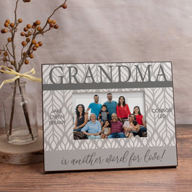 Personalized Picture Frame Grandma is Another Word for Love! (5)