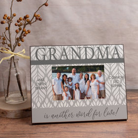 Personalized Picture Frame Grandma is Another Word for Love! (6)