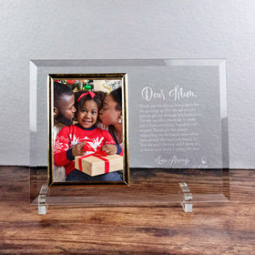 Personalized Picture Frame Dear Mom