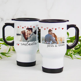 Personalized Travel Mug (14oz) - Soulmates