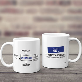 Personalized Engineer 11oz Mug Empty