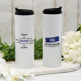Personalized Engineer Stainless Steel Thermal Tumbler (16oz)