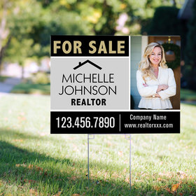 Personalized Real Estate For Sale Yard Sign