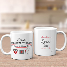 Personalized Med Student 11oz Mug Empty