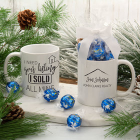Personalized Realtor 11oz Mug with Lindt Truffles