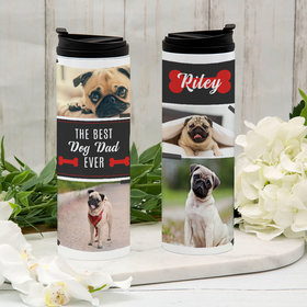 Personalized Best Dog Parent Ever Stainless Steel Thermal Tumbler (16oz)