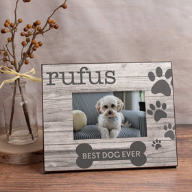Personalized Picture Frame Best Dog Ever